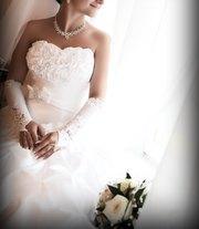 Шикарное свад.платье