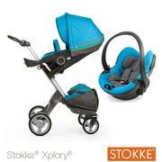2014 Stokke Xplory V4 новорожденных Полное коляски