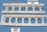 Несъёмная опалубка для стен здания и перегородок