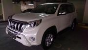 Toyota Prado TXL 2012 году модель,  цвет белый .... полный вариант//