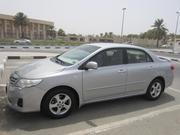 Toyota Corolla,  серебро,  модель 2012,