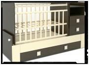 Продам кроватку-трансформер