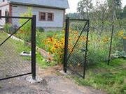 Продам ворота и калитка металлические