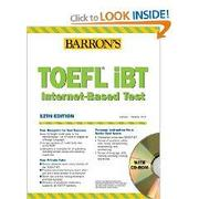 учебник TOEFL iBT  CD 2th Edition, редакция Barron's